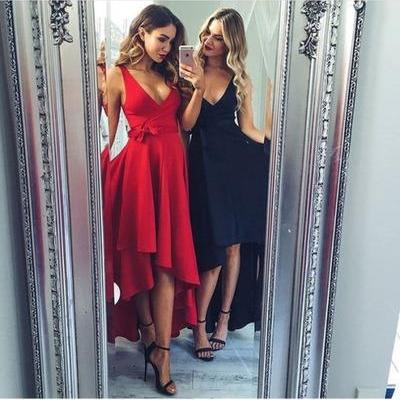 Fashionable Red Prom Dresses, Party..