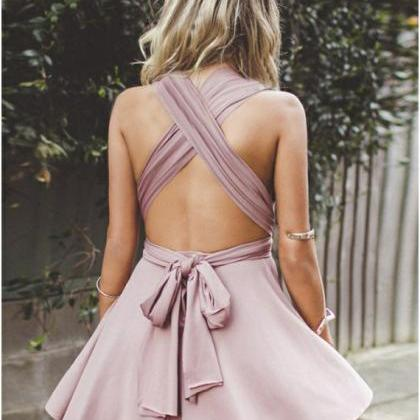 Romantic A-Line Homecoming Dresses,..