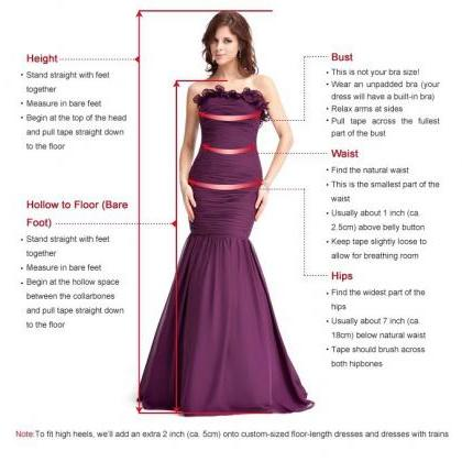 Sexy Prom Dresses, Red Prom Gowns,M..