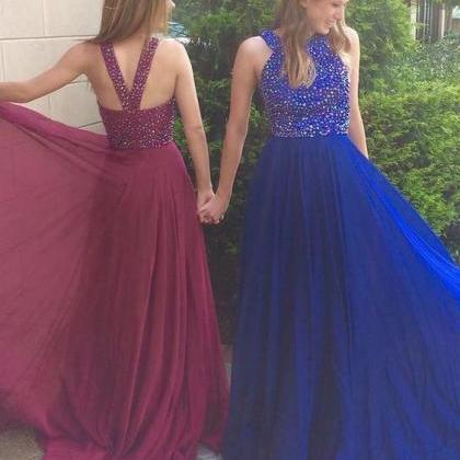 High Quality Prom Dress,Royal Blue ..