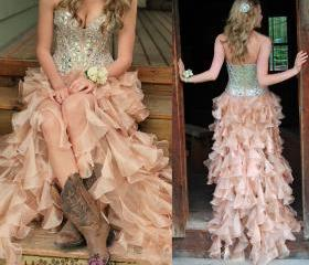 Prom Dress,Sequin Pr..