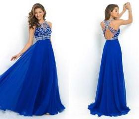 Elegant Royal Blue C..