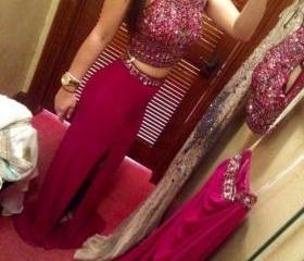 Rose Red Prom Dress,..