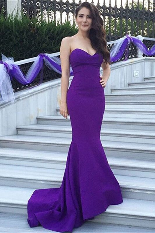 Purple Evening Dresses  39b2d38de5e5