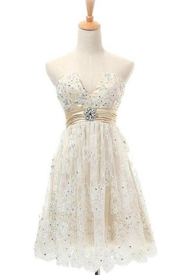 Lace Homecoming Dress,Short Prom Dress,Party Dress,Graduation Dress,A-Line Prom Dresses,Cheap Prom Dress