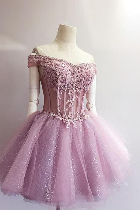 Charming Homecoming Dress,Appliques Homecoming Dress,Organza Homecoming Dress, Short Homecoming Dress,Party Dress,Graduation Dress,A-Line Prom Dresses,Cheap Prom Dress