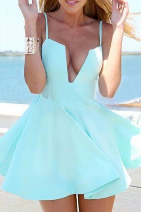 Charming Short Homecoming Dresses,Mint Green Homecoming dresses,Sexy Homecoming Dresses A-Line Prom Dresses