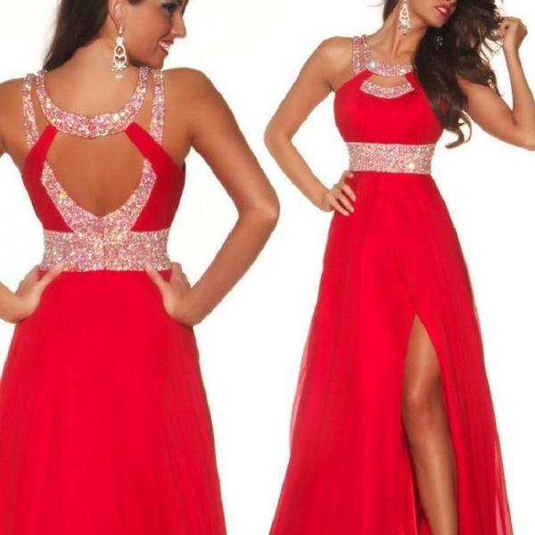 prom Dresses 2016 prom gowns Womens Homecoming dress sexy chiffon backless formal party